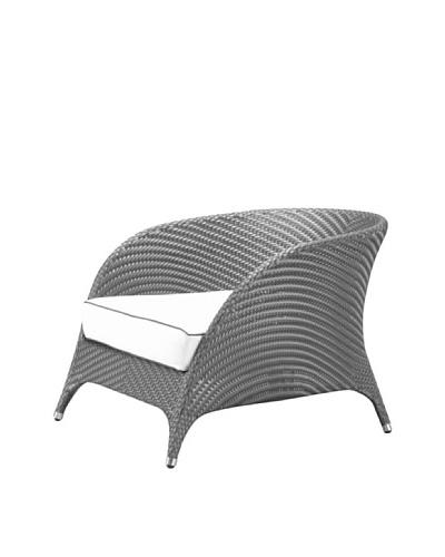 100 Essentials Flora All-Weather single Sofa, Jetson/Sunbrella Natural
