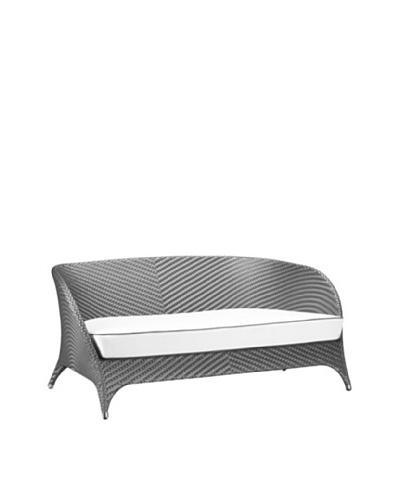 100 Essentials Flora All-Weather 2 Seater Sofa, Jetson/Sunbrella Natural