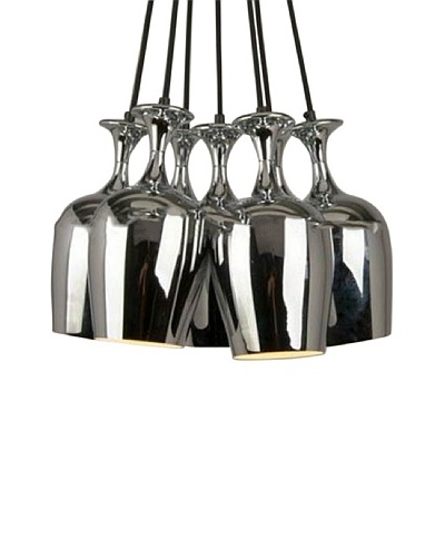 100 Essentials Goblet Pendant Lamp, Silver