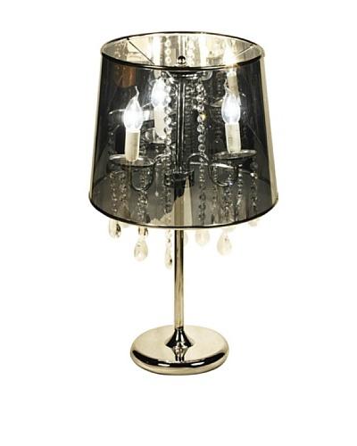 100 Essentials Cabaret Table Lamp, Silver