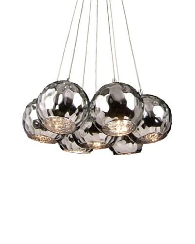 100 Essentials Chrome Pendant Lamp, Silver
