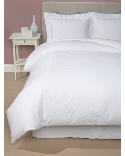 1891 by Sferra Nico Duvet Cover Set [White/Beige]