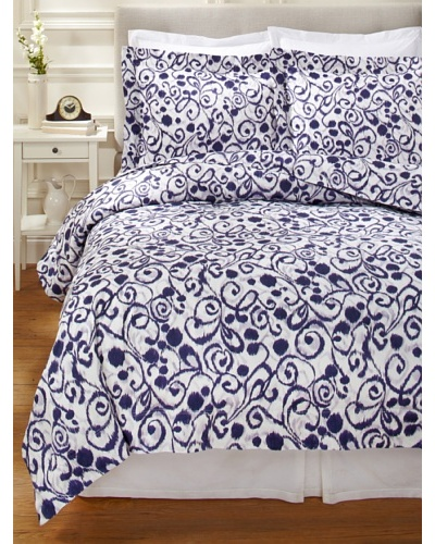 1891 by SFERRA Ironwork Duvet Cover Set [Aubergine]