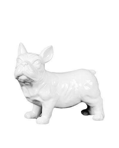 Ceramic Dog, White