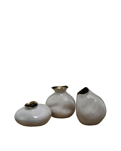 Set of 3 Air Vases, Dark Beige