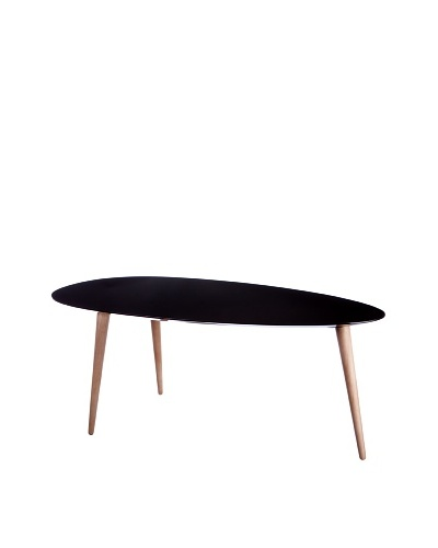 Small Egg Table, Black
