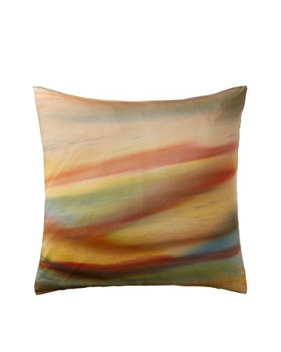 Hand Painted Euro Sham, Canyon
