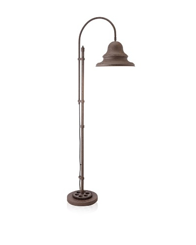 Livingston Industrial Gear Floor Lamp