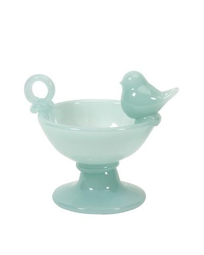 Florina Milk Glass Bowl