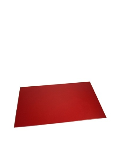 Leather Desk Pad, RedAs You See