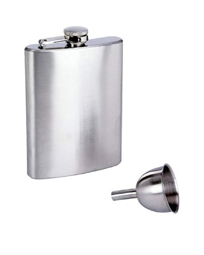 Classic 8oz Stainless Steel Flask with Funnel