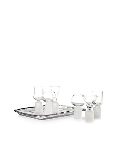 New Age 7-Piece Cordial Set with Tray