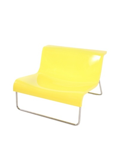 Piero Lissoni Form Chair, Yellow/Chrome