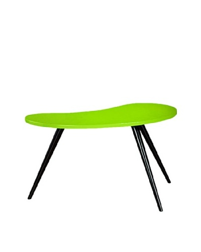 Large Curve Side Table, Green