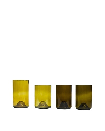 Set of 4 Assorted Wine Tumblers
