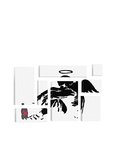 Banksy Drunken Angel #1 8-Piece Giclée On Canvas