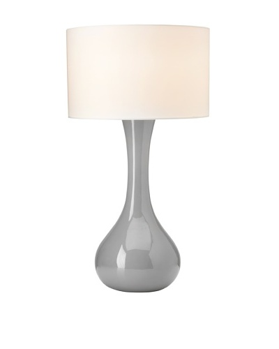 Curve Table Lamp, Grey
