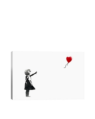 Banksy Girl with Balloon Canvas Print