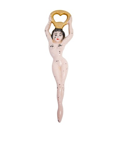 Vintage Circa 1930's Nude Floozie Bottle Opener