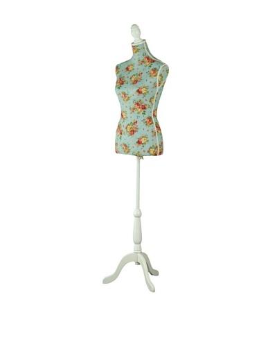 Galt Floral Dress Form, Blue