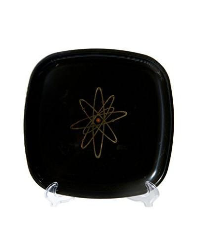 1960s Couroc Inlaid Atomic Design Tray