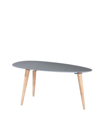 Large Egg Table, Grey