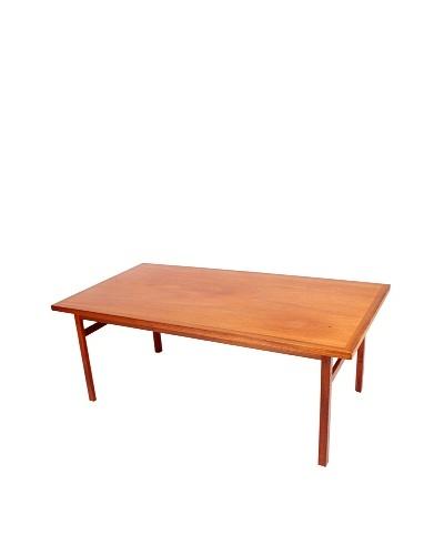 Vintage 1920's Iversen Table, Brown