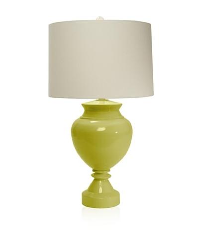 Aqua Vista Lighting Brompton Spun Bamboo Table Lamp, Endive
