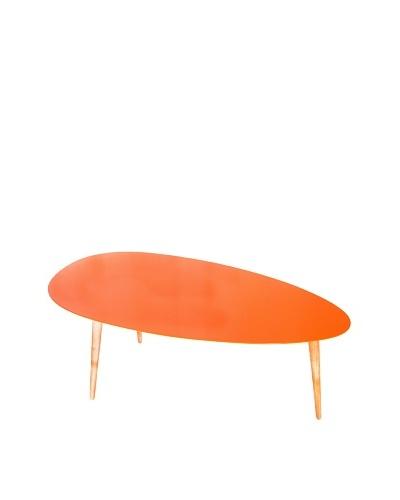 Large Egg Table, Orange