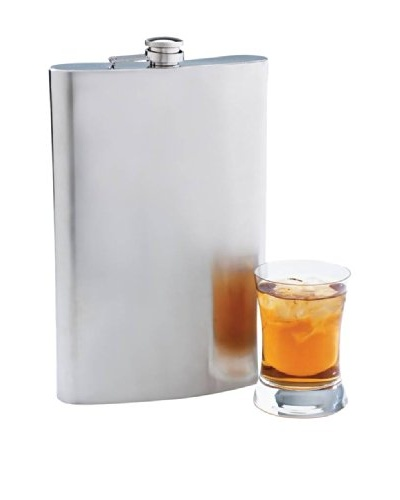 The BIG flask- 64-Oz. Stainless Steel Flask