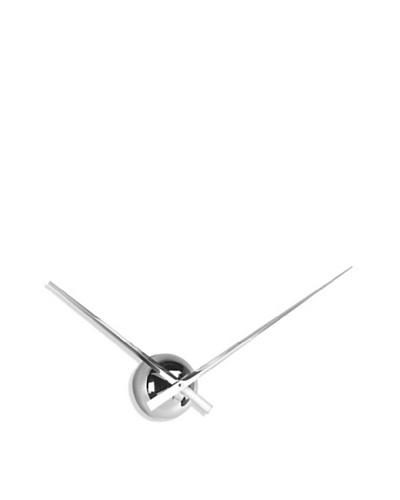 "Big Hand Metal Wall Clock, 16"" x 20.5"""