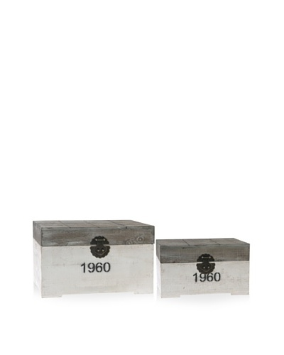 Set of 2 Decorative Boxes