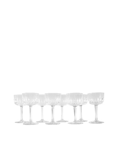 Set of 8 Sherbet Glasses, Clear