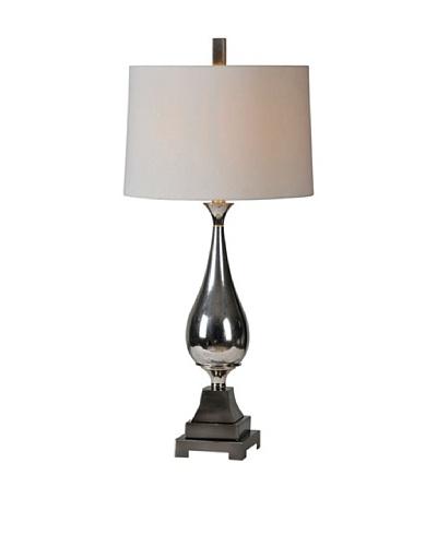 Jerrica Lamp, Silver Plate
