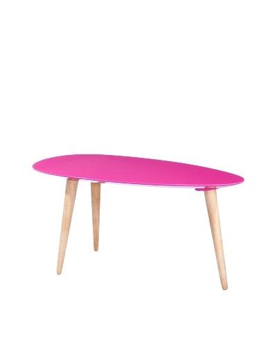 Small Egg Table, Fuschia