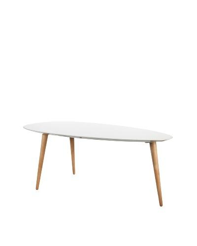 Large Egg Table, White