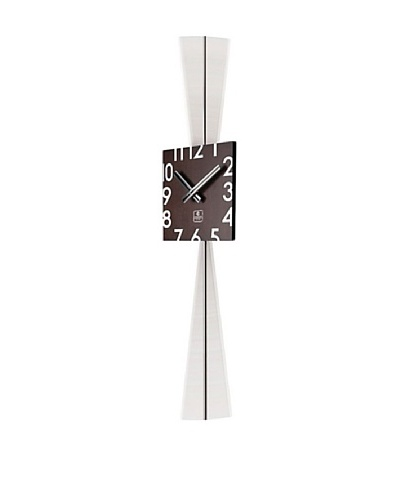 Wooden Square Pendulum Wall Clock, 28.5