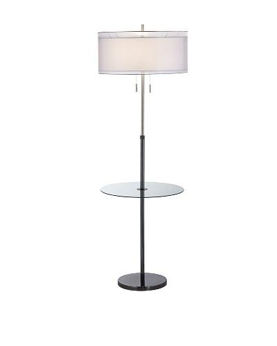 Seeri W/Glass Tray Floor Lamp