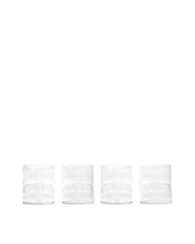 Set of 4 Ketel One Rocks Glasses