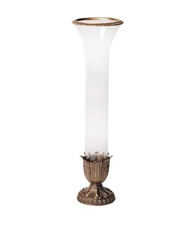 Frankfurt Crystal Vase, White