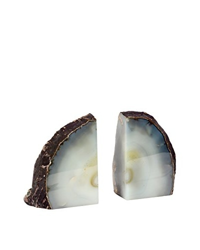 Natural Agate Bookend Set, Agate