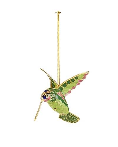 Cloisonné Hummingbird Ornament