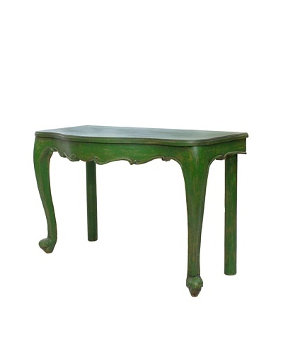 Juliette Console Table, Jade Green