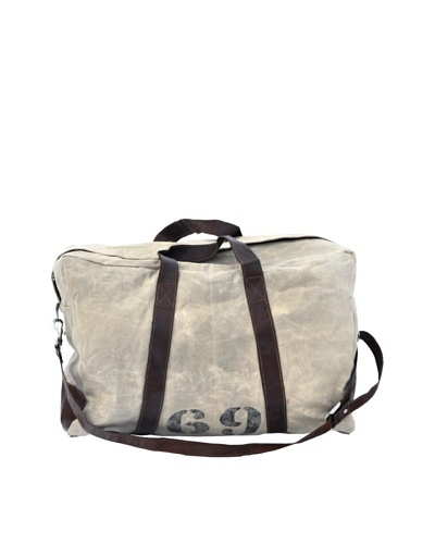 Felicity Duffle Bag, Tan/Brown