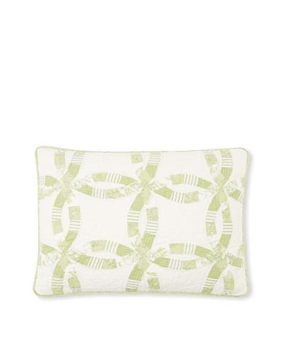 Wedding Ring Pillow Sham [Celery]