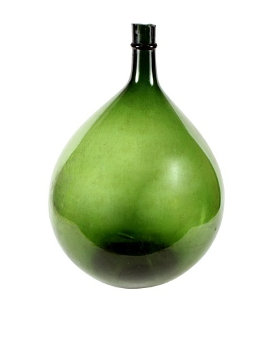 X-Large French Demijohn, Green