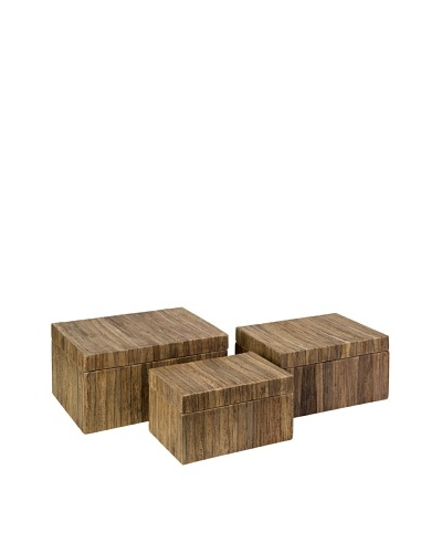 Set of 3 Havana Storage Boxes