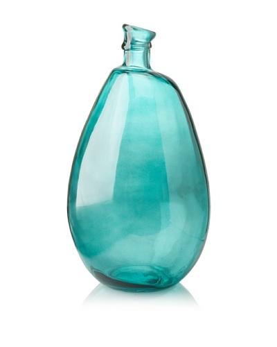 Glass 18 Vase, Teal