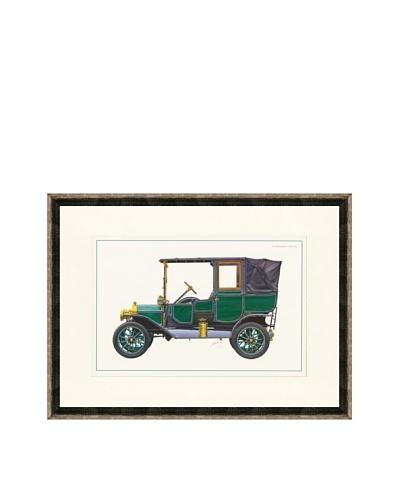 1912 Ford Model T Town Car Illustration