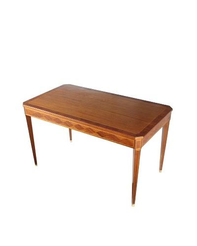 1950's English Table, Brown